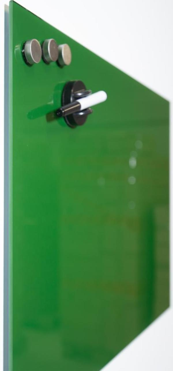 Whiteboard 40 x 30 cm Memo Board Magnetwand Wandtafel Memoboard Merkzettel grün