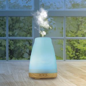 VITALmaxx Diffuser Farbwechsel 10W Weiß Nachtlicht Duftöl Stövchen Aroma Klima