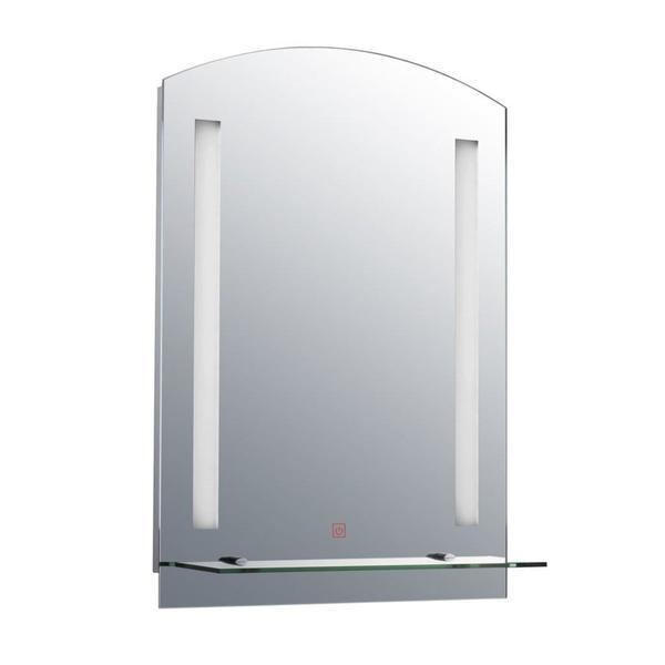 HOMCOM Badspiegel Wandspiegel | Badspiegel LED Lichtspiegel  Badezimmerspiegel