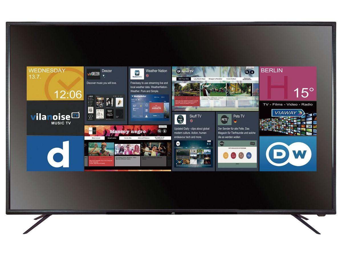 Bild 1 von JTC GALAXIS 4.9 UHD 4K  Fernseher, 49 Zoll,  Smart TV