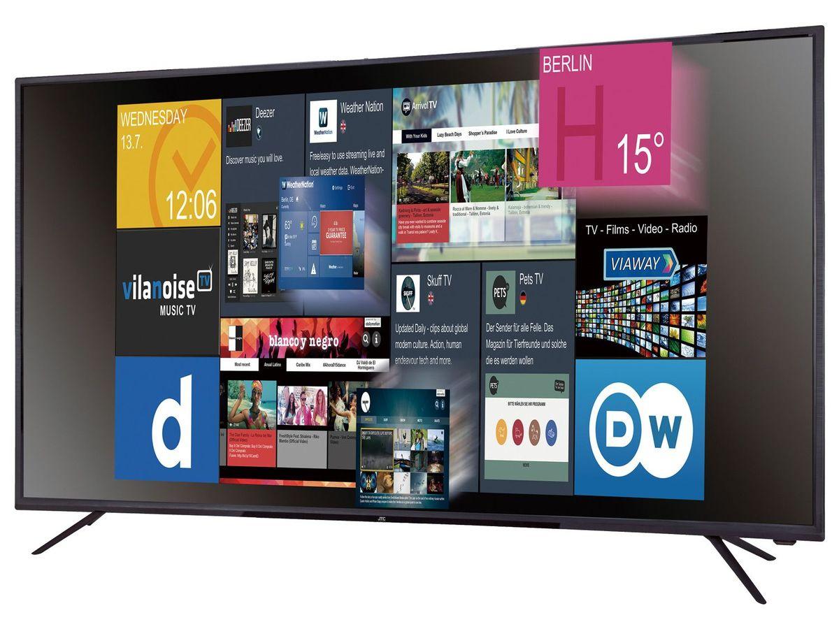 Bild 2 von JTC GALAXIS 4.9 UHD 4K  Fernseher, 49 Zoll,  Smart TV