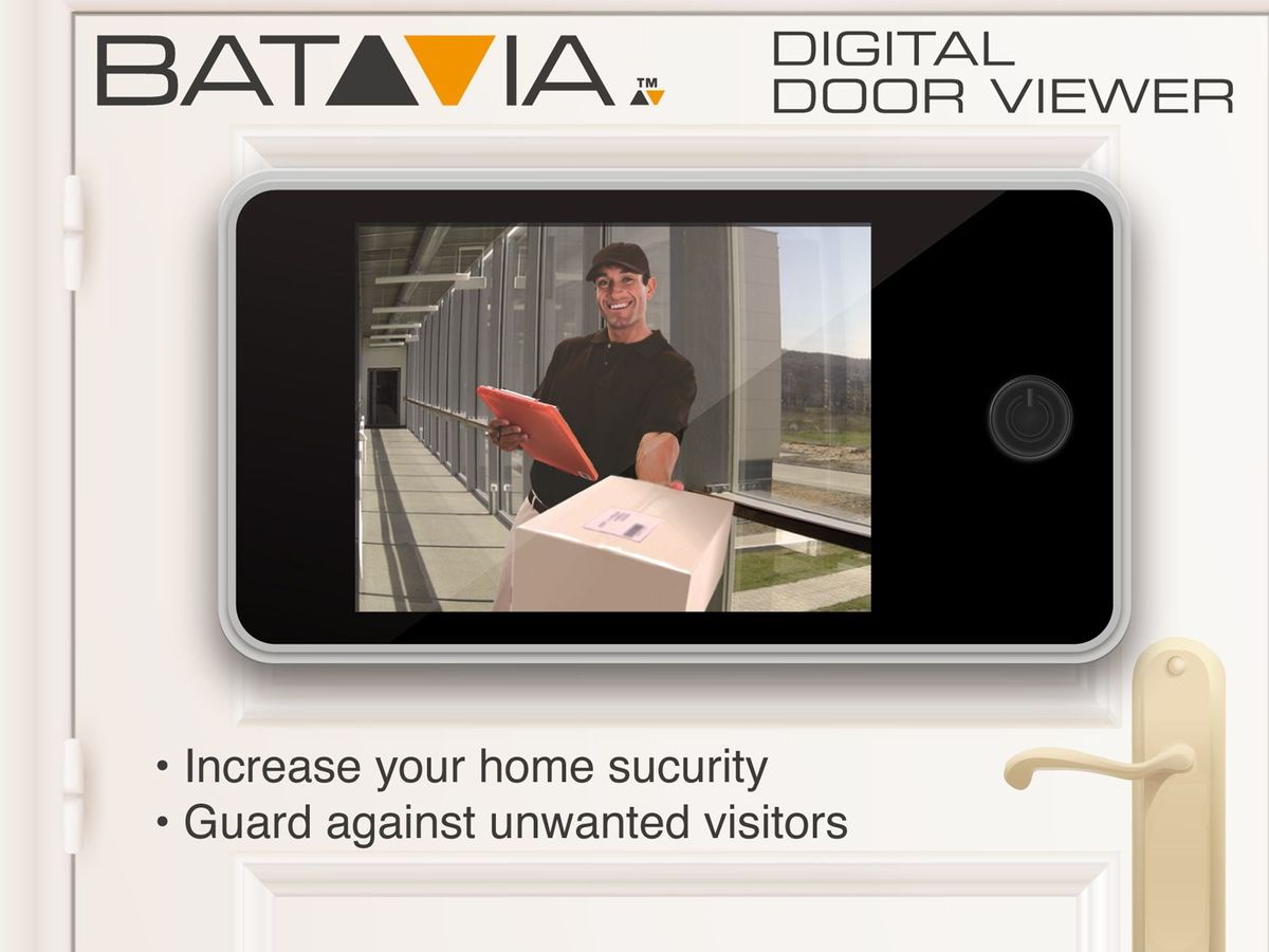 Bild 3 von Batavia Digitaler Türspion 3,2 Zoll (8,13 cm)