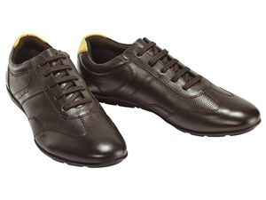 PREMIUM COLLECTION BY LIVERGY Herren Leder-Sneaker