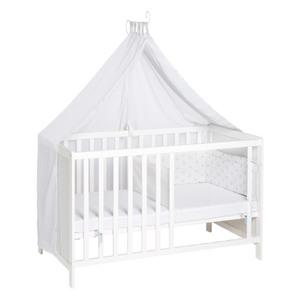 Roba Kinder-Multifunktions-Bett, weiß, ca. 60 x 120 cm