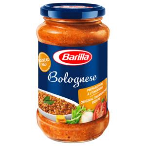 Barilla Bolognese Sauce oder Pesto