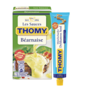 Thomy Senf oder Les Sauces