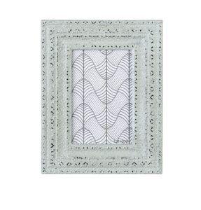Bilderrahmen aus Holz - grün - Maße: ca. 17,5 x 1,8 x 22,5 cm