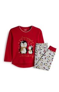 Pyjama mit Pinguin für Babys (M)