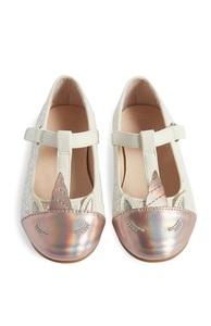 Schuhe mit Einhorn (kleine Mädchen)