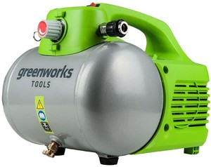 Greenworks Kompressor 6 l  6,8 bar | B-Ware