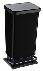 Rotho Treteimer Paso 40 l,  schwarz metallic | B-Ware