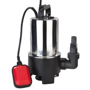 Schmutzwasser-Tauchpumpe, 550 Watt, Edelstahl