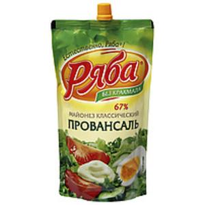 "Salatmayonnaise ""Rjaba-Klassicheskij Provansal"""