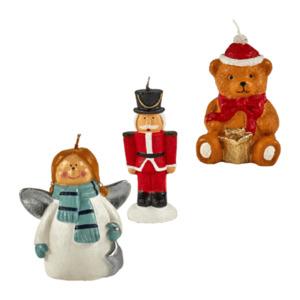 LIVING ART     Weihnachtliche Figurenkerze(n)