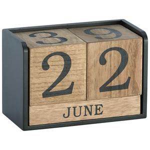 Kalender (braun-schwarz)
