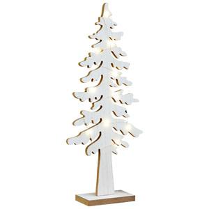 Aufsteller Baum mit LED (weiß)