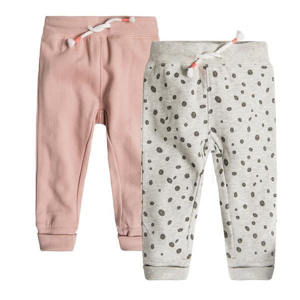 Baby Sweathose 2er Pack für Mädchen