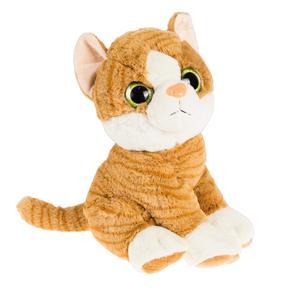 SMIKI Katze braun sitzend 32 cm