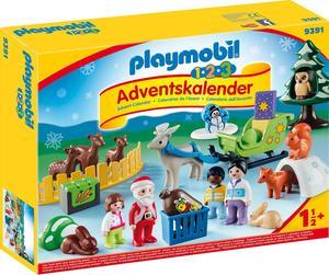 PLAYMOBIL 9391 Adventskalender Waldweihnacht
