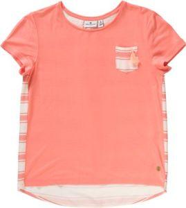 T-Shirt mit Brusttasche Gr. 176 Mädchen Kinder