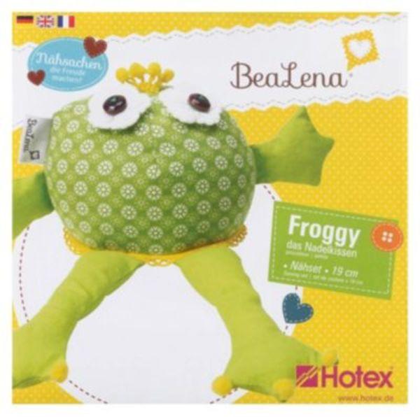 BeaLena Nähset Nadelkissen Froggy