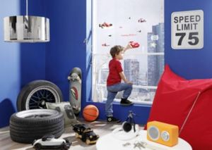 Fenstersticker Disney Cars, Neon