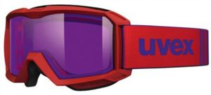 Skibrille flizz red mat dl/psycho