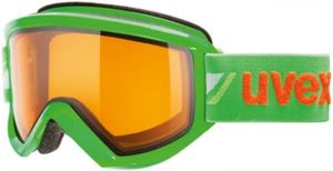 uvex Skibrille fire race green dl/lgl
