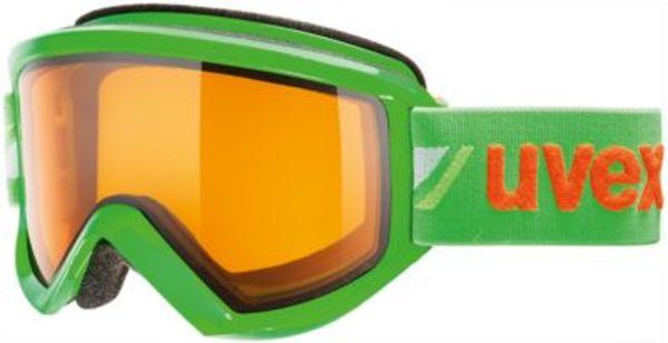 uvex Skibrille fire race green dl/lgl