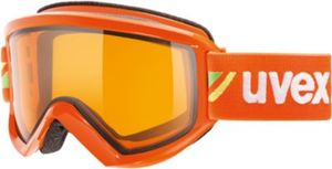 uvex Skibrille fire race orange dl/lgl