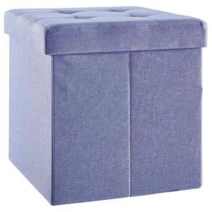 Carryhome SITZBOX Linon, Vliesstoff Blau