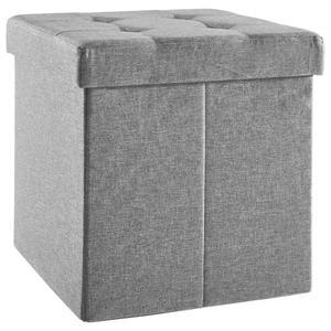 Carryhome SITZBOX Linon, Vliesstoff Grau