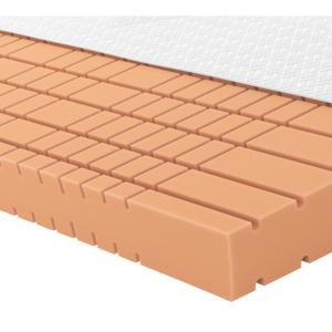 Schlaraffia GELSCHAUMMATRATZE Quantum 180 90/200 cm 20 cm, Weiß