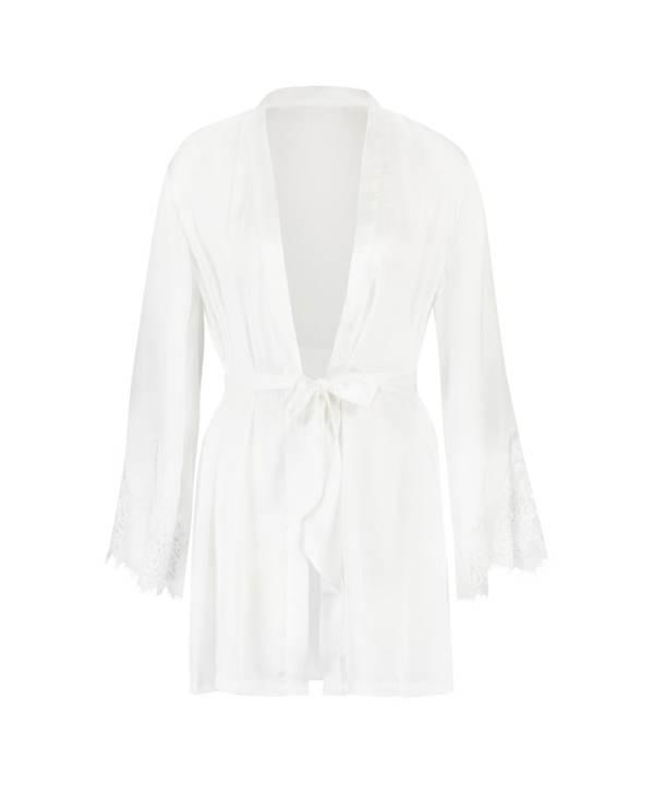 Hunkemöller Kimono Satin Weiß