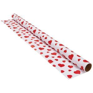 Geschenkpapier Marie in Rot/Weiß
