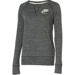 Nike SPORTSWEAR GYM VINTAGE CREW EXT - Damen Shirts & Tops