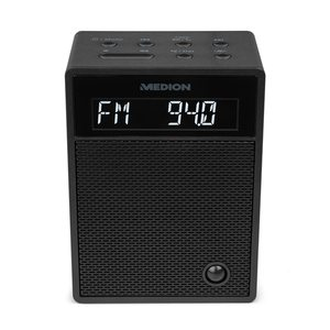 MEDION LIFE® P65702 Bluetooth® Steckdosenradio mit LCD Display, NFC, PLL-UKW-Radio, Freisprechfunktion, USB-Ladefunktion (B-Ware)
