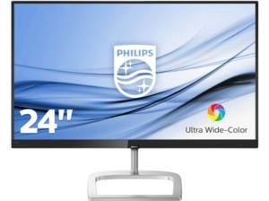 PHILIPS 246E9QJAB/00 23.8 Zoll Full-HD Monitor (5 ms (Grau zu Grau) Reaktionszeit, FreeSync, 60 Hz)