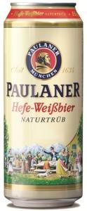 Paulaner Hefeweißbier naturtrüb Dose 0,5 ltr