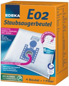 EDEKA Staubsaugerbeutel E02 1 Stk