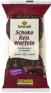 Alnatura Bio Schoko Reis Waffeln Zartbitter 100 g