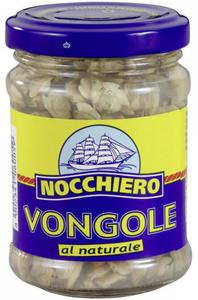 Nocchiero Vongole al Naturale Venusmuscheln in Muschelsud 130 g
