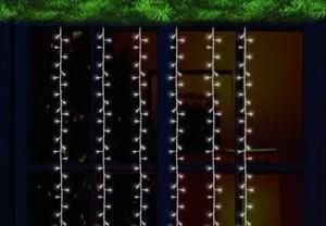 TrendLine LED-Wasserfall Licht mit 384 LED ,  Bänder 3 m lang, für aussen geeignet