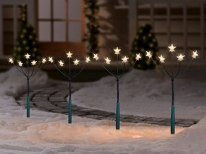 TrendLine LED Gartenlichter Set 4-teilig ,  20 LED, für den Außenbereich