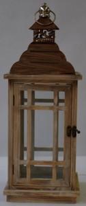 TrendLine Holz Metall Laterne