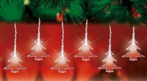 TrendLine LED Lichterkette Tannenbäume ,  weiss, innen