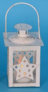 TrendLine LED Laterne ,  Motiv Stern, für den Innenbereich