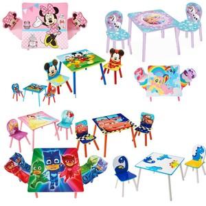 Disney 3-tlg. Tisch- und Stuhl-Set Prinzessin 45 x 63 x 63 cm Rosa WORL660020