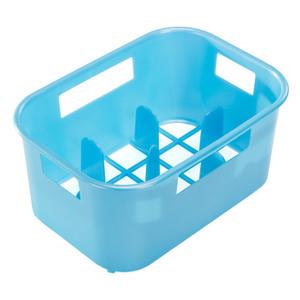 Reer Flaschenkasten Flaschenbox Fläschchen-Kasten pink, weiß, gelb, grün, blau, Alle Farben:Blau