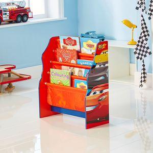 Worlds Appart Disney Cars - Hängefach-Bücherregal für Kinder – Büchergestell für das Kinderzimmer , 470CAA